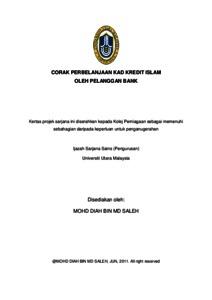 thesis kad kredit
